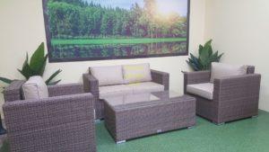 Фото-Adagio beige set 2 Плетеная мебель ротанг искусственный
