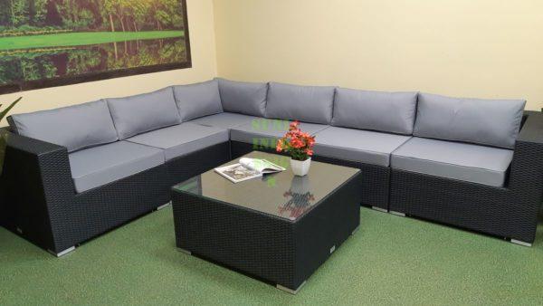 Фото-Luisa Lounge set 2 Плетеная мебель