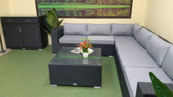 Luisa Lounge set 3 Садовая мебель ротанг