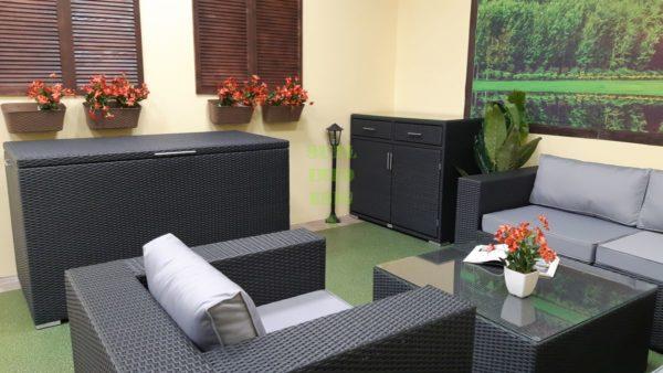Luisa Lounge set 5 Мебель из искусственного