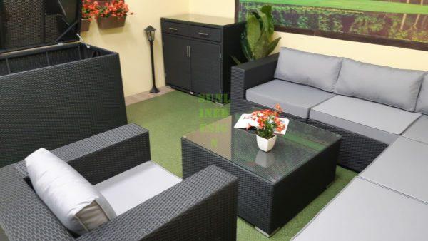 Фото-Luisa Lounge set 5 Мебель плетеная фабрика Sunlinedesign Outdoor