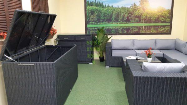 Фото-Luisa Lounge set 5 Набор мебели на веранду ротанг