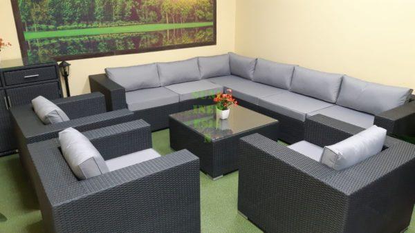 Фото-Luisa Lounge set 6 Мебель из искусственного ротанга