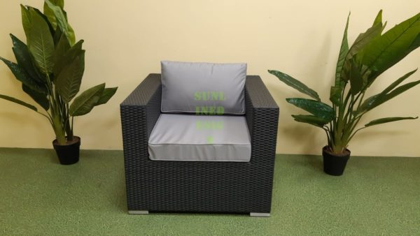 """Кресло из искусственного ротанга """"Luisa"""" lounge"""