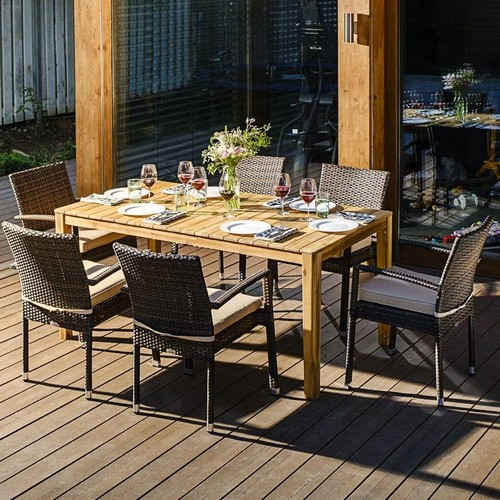 Садовая мебель AURA +Milano 6