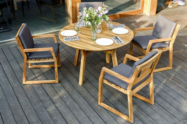 Садовая мебель MODENA D 120 dining set