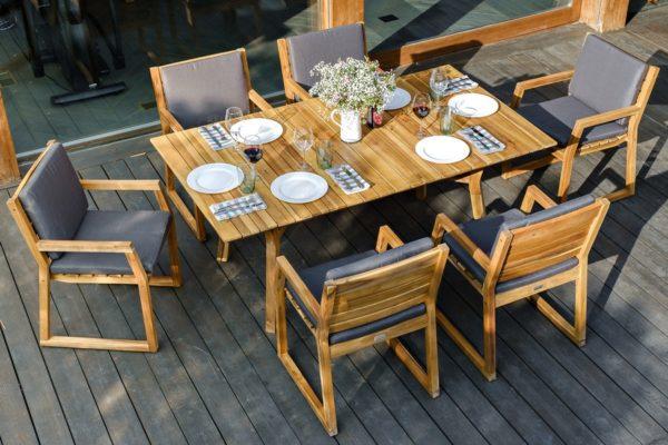 Фото-Садовая мебель MODENA dining set 6