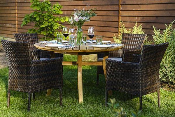 Садовая мебель Modena D120 + Aroma 4 персоны
