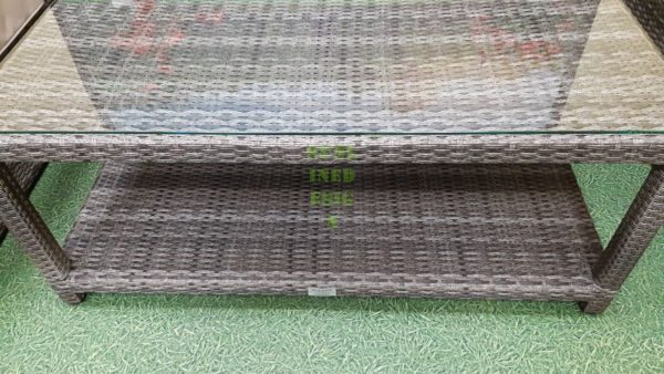 Aria Стол 120х80 ротанг искусственный