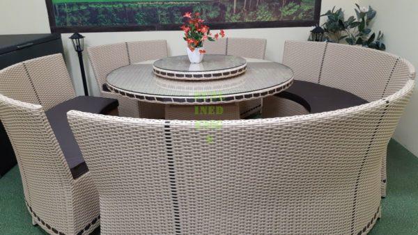Мебель China beige из искусственного ротанга