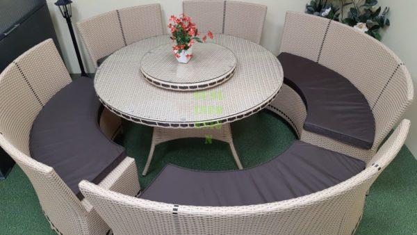 Мебель веранды China beige