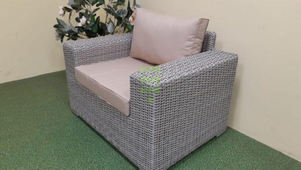 Enigma Кресло лаунж плетеное