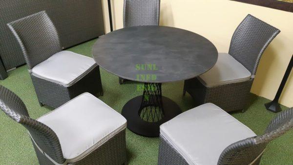 Lotus set 5 и стулья Rose Мебель для кафе