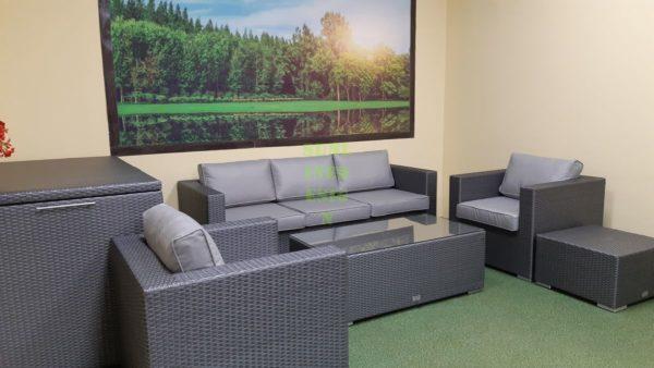 Louisiana grey Мебель из искусственного ротанга