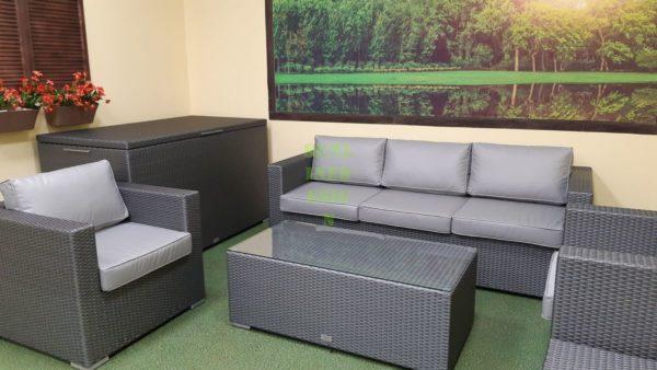 Louisiana grey Плетеная мебель