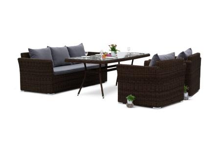 Mocaccino brown Плетеная мебель