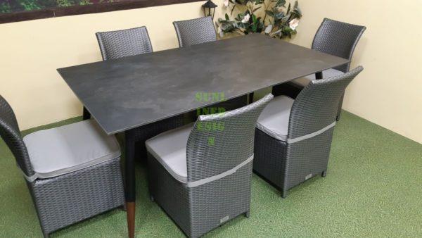 Spirit Мебель для террасы обеденная и стулья Rose