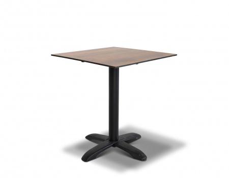 Стол для кафе Cafe 64 brown wood HPL