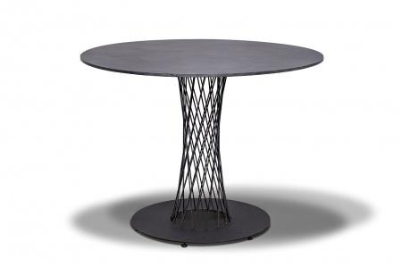 Стол для кафе Diego D100 grey granite HPL