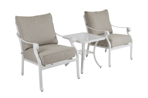 Arras Комплект садовой мебели белый