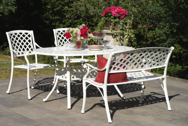 "Садовая мебель ""Arras"" white dining"