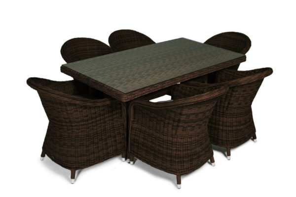 Espresso brown Садовая мебель ротанг