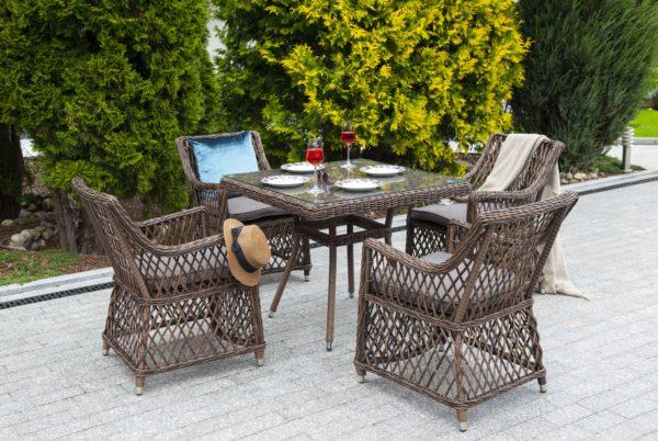 Irish brown Плетеная мебель ротанг