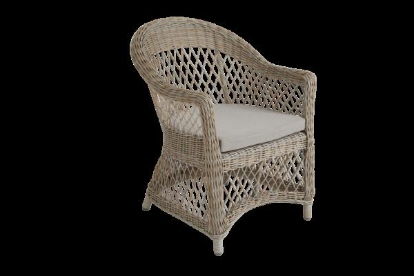 KAMOMILL beige Кресло из искусственного ротанга