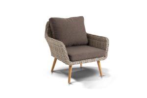 Кресло из искусственного ротанга Прованс