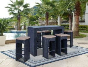 Плетеная барная мебель Oceanic