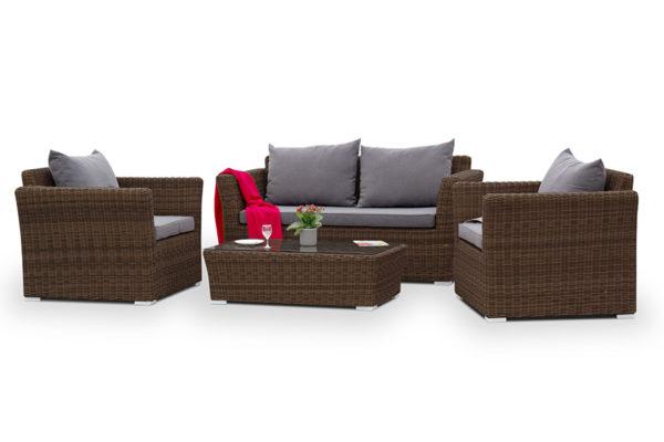 Плетеная мебель Cappuccino brown 1