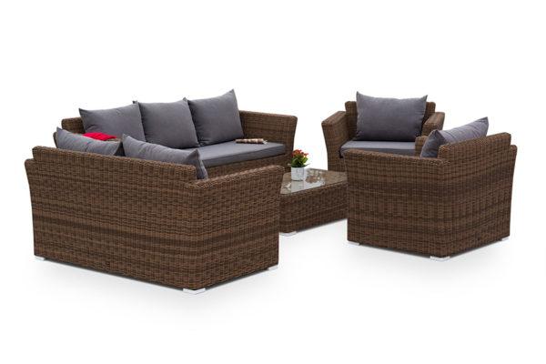 Плетеная мебель Cappuccino brown 2