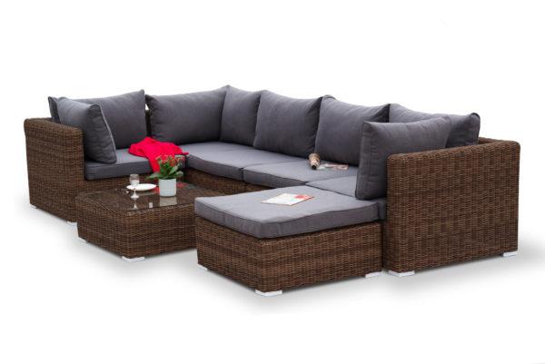 Плетеная мебель Lungo brown