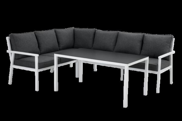 RANA white левый Садовая мебель из алюминия