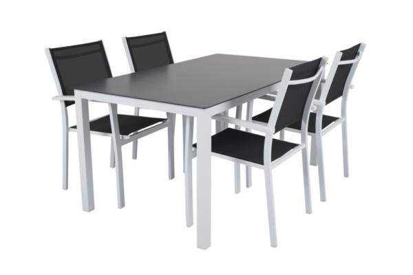 Rana white 150+4 Садовая мебель set 1