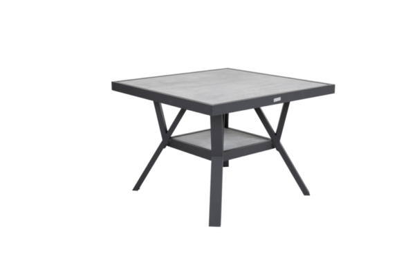 "Стол садовый ""SAMVARO"" black 90x90"