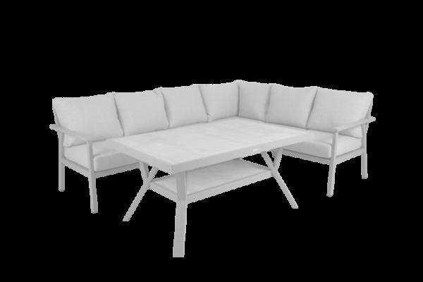 "Садовая мебель ""SAMVARO"" white set 3 brafab"