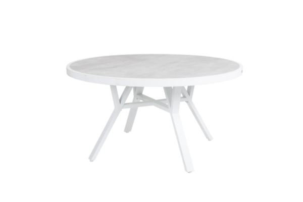 """Стол садовый """"SAMVARO"""" white D140 brafab"""