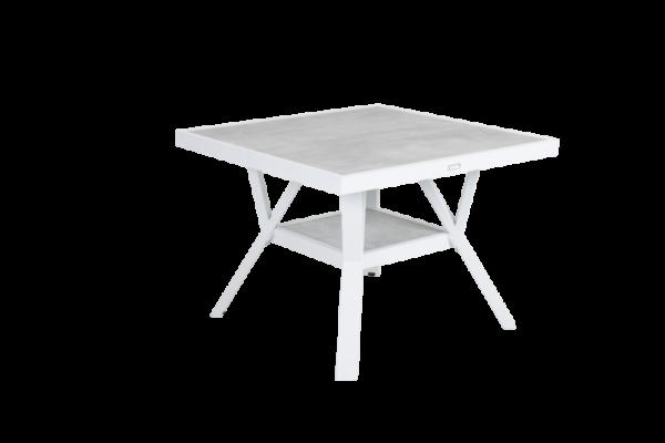 """Стол садовый """"SAMVARO"""" white 90x90"""