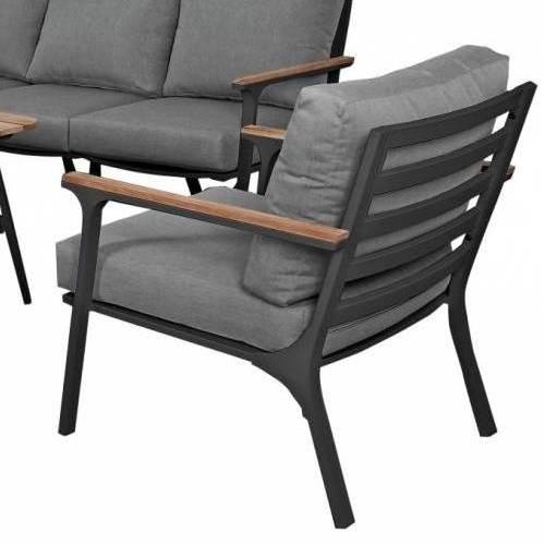 Садовая мебель CONCORDE black graphite