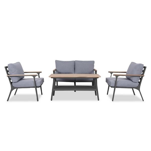 Садовая мебель алюминиевая CONCORDE black graphite