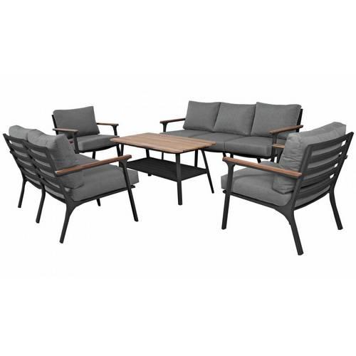 Садовая мебель из алюминия CONCORDE black graphite