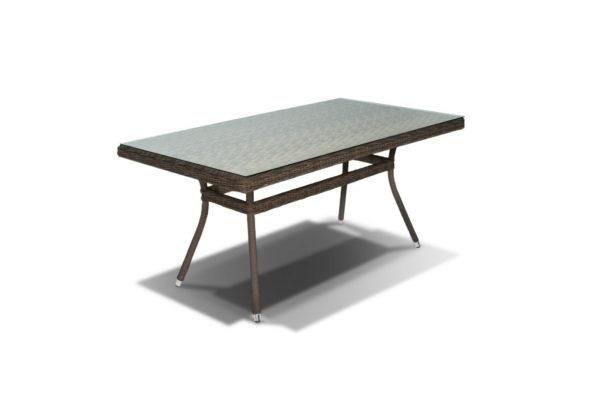 Стол из искусственного ротанга Latte 160 brown