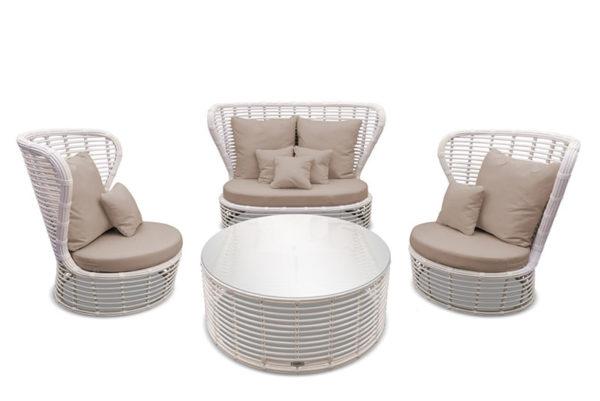 """Плетеная мебель """"ELEGREIS """" lounge set"""