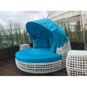 """Лежак с крышей """"Santorini"""" garden lounge"""