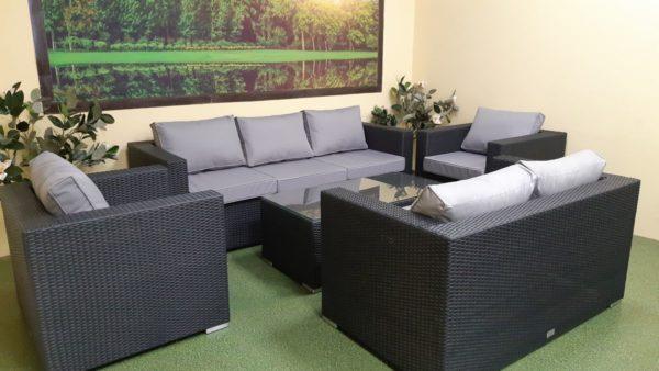 Фото-Luisa set 3 Плетеная мебель