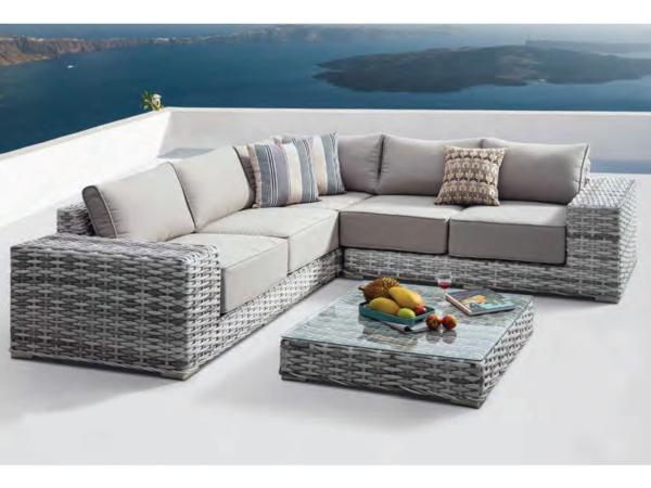 Фото-Moon Lake Плетеная мебель из искусственного ротанга