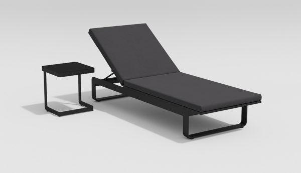 Фото-VILLINO коплект пляжной мебели карбон антрацит
