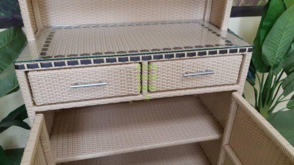 Aura шкаф мебель из ротанга