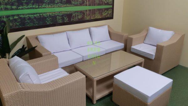 Glendon cream Садовая плетеная мебель